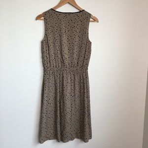 LOFT Dresses - Loft Ann taylor polka dots sleeveless dress